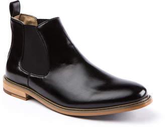 Deer Stags Mens Tribeca Chelsea Boots Block Heel Pull-on
