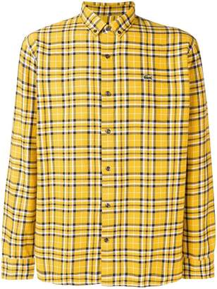 Lacoste Live classic check shirt