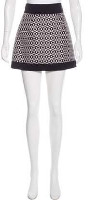 Fausto Puglisi Silk Mini Skirt