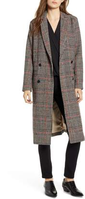 Cupcakes And Cashmere Plaid Duster Jacket