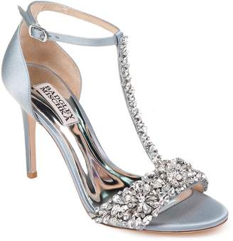 Badgley Mischka Collection Crystal Embellished Sandal