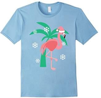 Christmas Pink Flamingo Lover T-Shirt