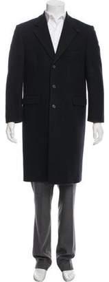 Our Legacy Notch-Lapel Virgin Wool Overcoat