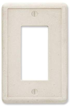 Questech Tumbled Textured Decorative Wall Socket Plate