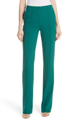 Diane von Furstenberg High Waist Pintuck Pants