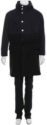 Neil Barrett Oversize Hooded Coat w/ Tags