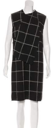 Lanvin Sleeveless Printed Dress