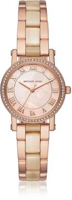 Michael Kors Petite Norie Rose Goldtone Stainless Steel Women's Watch