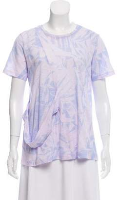 Proenza Schouler 2018 Printed Tissue Jersey T-Shirt w/ Tags