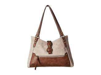 b.ø.c. Tarrant Suede Braid Tote Tote Handbags