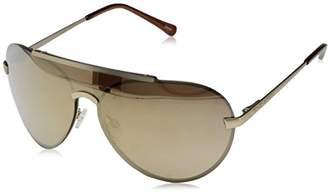 Vince Camuto Women's VC702 GLD Shield Sunglasses
