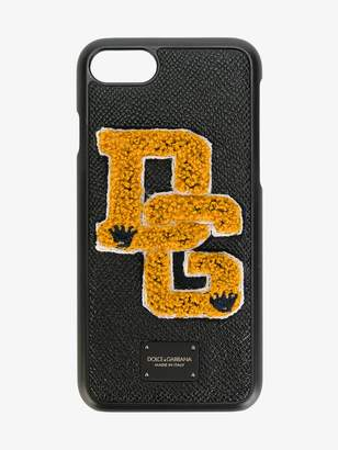 Dolce & Gabbana iPhone 7 Logo Patch Case