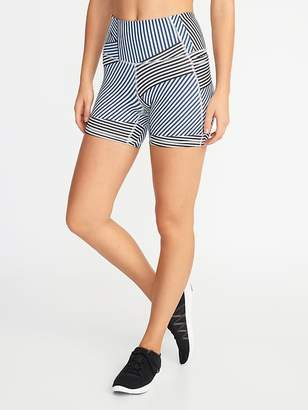 94c44555ca15d Old Navy High-Rise Side-Pocket Elevate Compression Shorts for Women - 5-