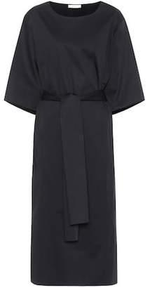 The Row Dalun cotton-blend poplin dress