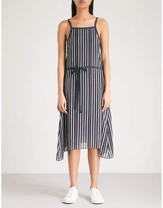 Rag & Bone Sonny striped crepe dress