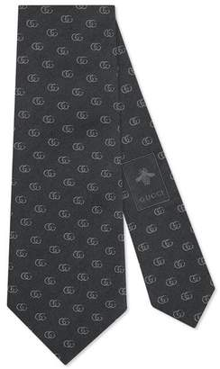 Gucci Double G silk tie