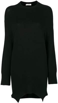 Valentino asymmetric elongated jumper