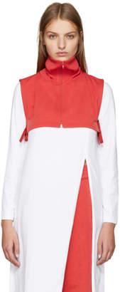 Facetasm Red Turtleneck Collar