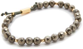 Gorjana Power Pyrite Bracelet for Strength $58 thestylecure.com