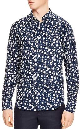 Sandro Bloomer Slim Fit Button-Down Shirt