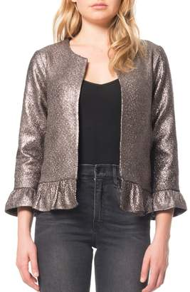 Willow & Clay Ruffle Foil Jacket