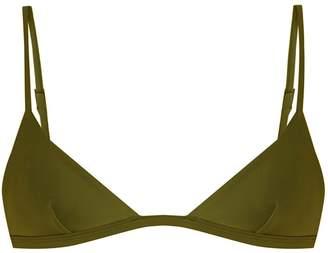 MATTEAU The Petite Triangle bikini top