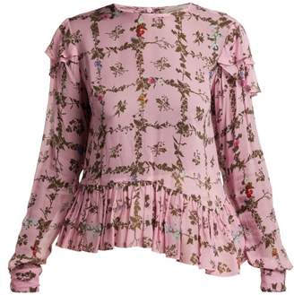 Preen Line Bryoni Botanic Print Top - Womens - Pink Print