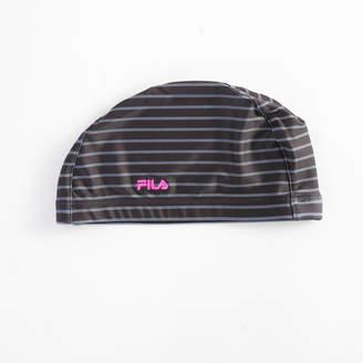 Fila (フィラ) - 【FILA】ボーダー柄プリント キャップ