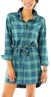 Carve Designs Creston Flannel Dress - Women's