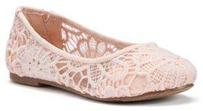 Mudd® Girls' Meow Ballet Flats $44.99 thestylecure.com