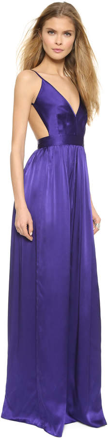 ONE by Contrarian Babs Bibb Maxi Dress 36