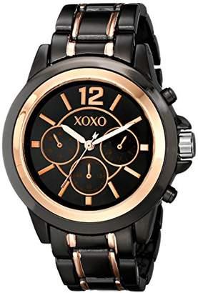 XOXO Women's XO5585 Two-Tone Fashion Watch