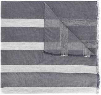 Fabiana Filippi striped sheer scarf