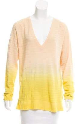 Raquel Allegra Wool & Cashmere Ombré Sweater w/ Tags
