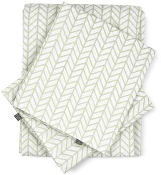 Scout | Modern Herringbone Cotton Percale Bed Linen