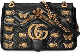 Gucci GG Marmont medium matelassé shoulder bag