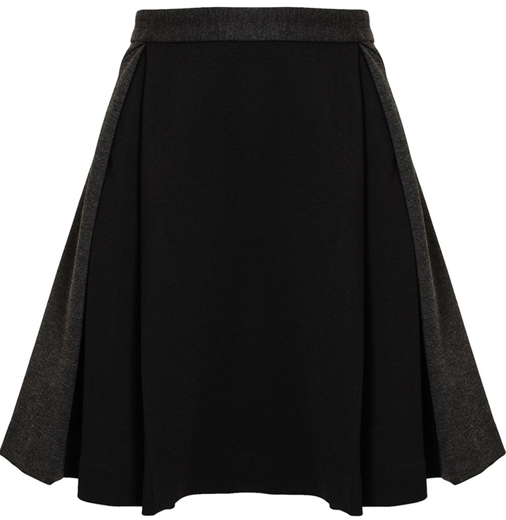 Chalayan Flared Pleated Skirt