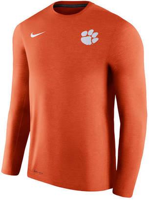 Nike Men's Clemson Tigers Dri-Fit Touch Longsleeve T-Shirt