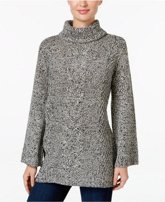 Charter Club Bell-Sleeve Tunic Sweater, Only at Macy's $79.50 thestylecure.com