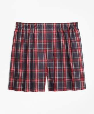 Brooks Brothers Traditional Fit Royal Stewart Tartan Boxers