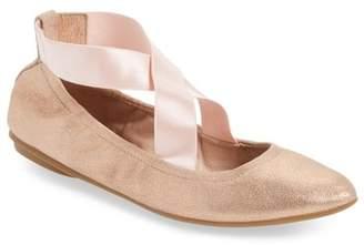 Taryn Rose Edina Strappy Ballet Flat