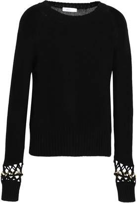 A.L.C. (エーエルシー) - A.L.C. A.l.c. 装飾付き ニット コットン セーター