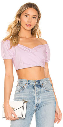 bf0675a6f345a Lavender Crop Top - ShopStyle