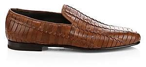 To Boot Men's Lane Woven Leather Loafer