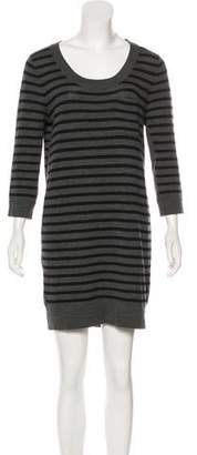 Rag & Bone Merino Wool Striped Dress
