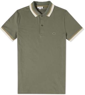 Lacoste Tipped Polo