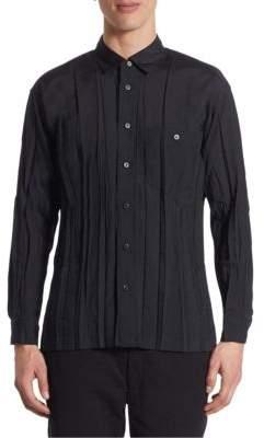 Issey Miyake Regular-Fit Wrinkle Shirt