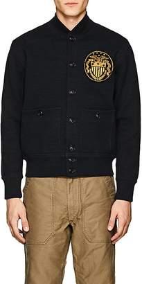 Rrl Men's Compact-Knit Cotton Bomber Jacket