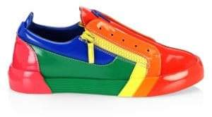 Giuseppe Zanotti Multicolor Low-Top Sneakers