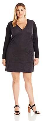 Single Dress Women's Plus-Size Lauren Tunic Dress $198 thestylecure.com
